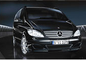Mercedes Benz Viano airport transfer vehicle